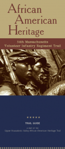 MASS 54th Volunteer Infantry Regiment brochure cover