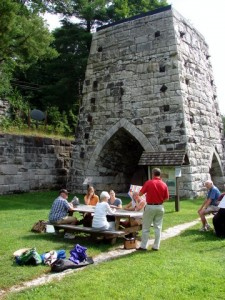 Teacher professional development program at Beckley Furnace in East Canaan, CT