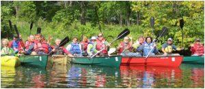 housatonic river canoe paddling trip b